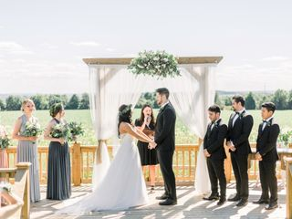 The wedding of Jessica and Brian