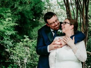 The wedding of Melanie and Duncan 2
