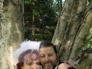The wedding of Sharon and Clyde 1