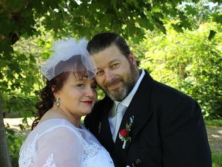 The wedding of Sharon and Clyde