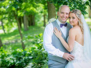 The wedding of Kayla and Garrett