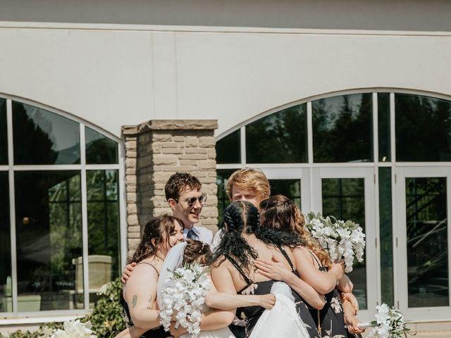 Lucas  and Kaitlynn's wedding in Wallace, Nova Scotia 13