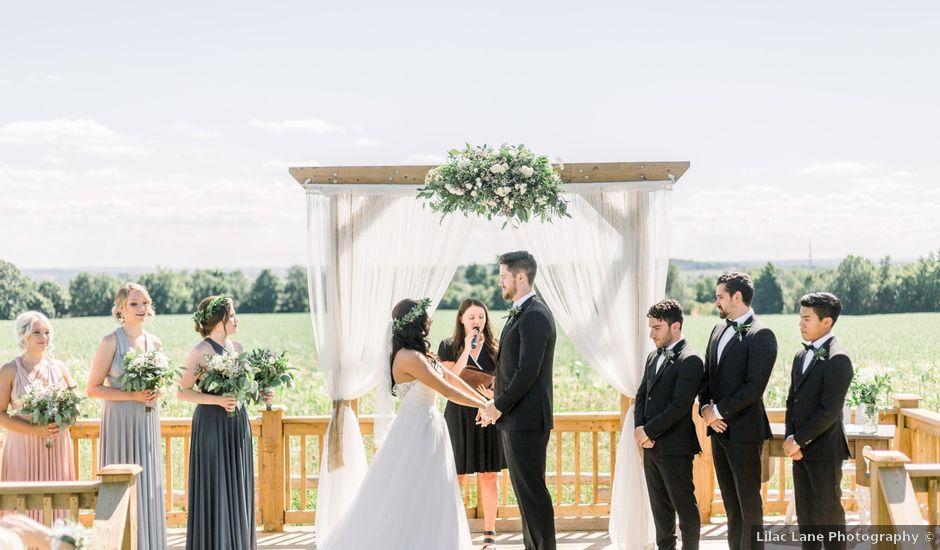 Brian and Jessica's wedding in Bradford, Ontario