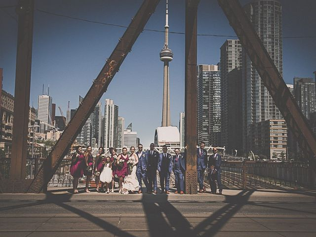 Richard and Tiffany's wedding in Mississauga, Ontario 22