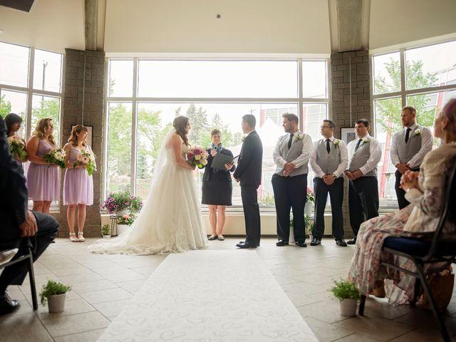 Gabe and Michelle's wedding in Edmonton, Alberta 4