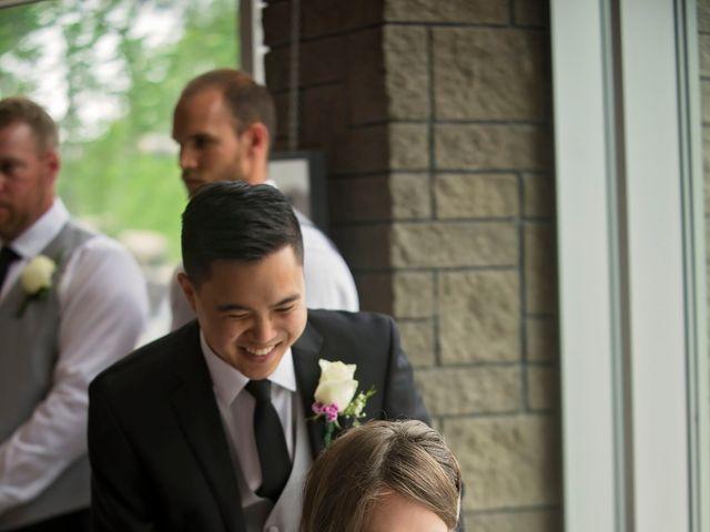 Gabe and Michelle's wedding in Edmonton, Alberta 7