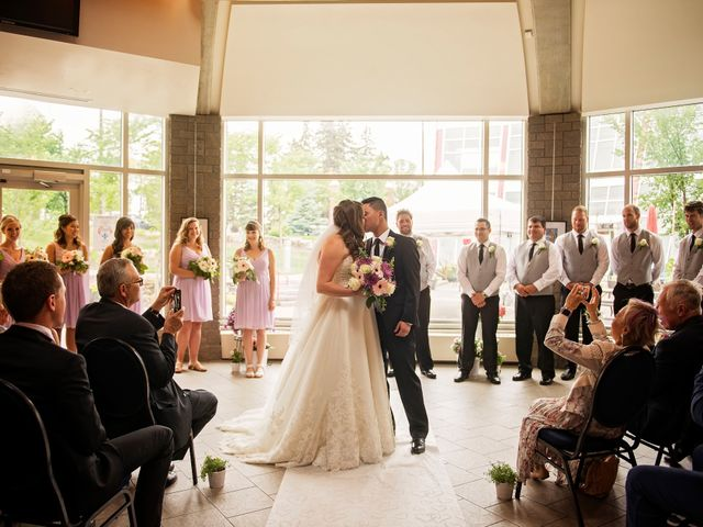 Gabe and Michelle's wedding in Edmonton, Alberta 8