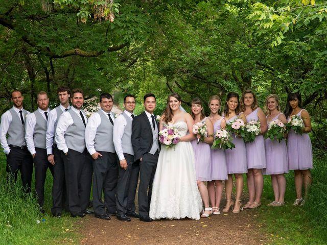 Gabe and Michelle's wedding in Edmonton, Alberta 13