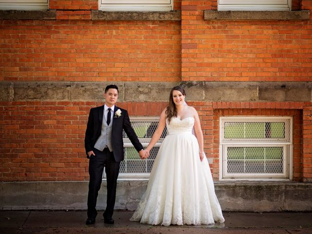 Gabe and Michelle's wedding in Edmonton, Alberta 17