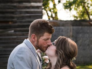 The wedding of Jamie-Lee and Justin