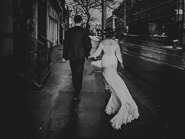 The wedding of Gladstone Hotel and Toronto Wedding Photos