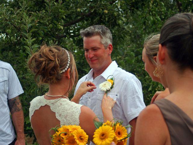 Karyn and Ryan's wedding in Vernon, British Columbia 4