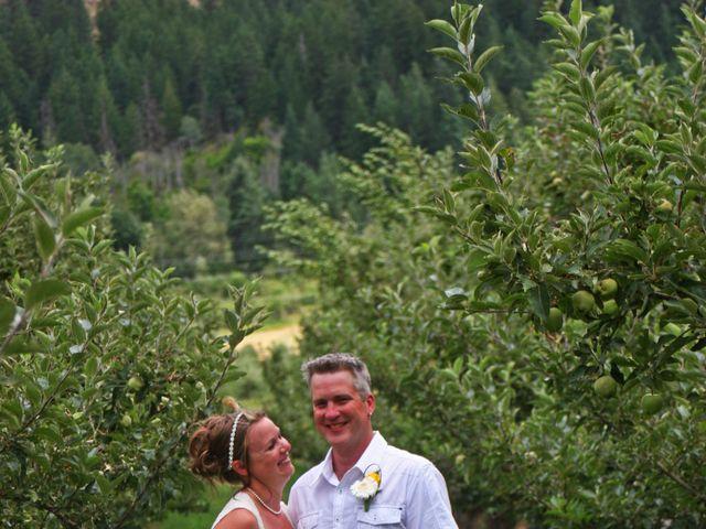 Karyn and Ryan's wedding in Vernon, British Columbia 6