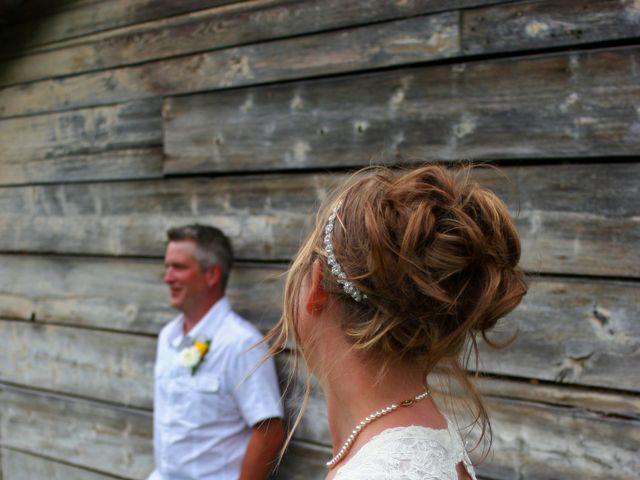 Karyn and Ryan's wedding in Vernon, British Columbia 7