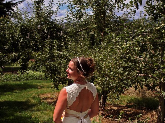Karyn and Ryan's wedding in Vernon, British Columbia 8