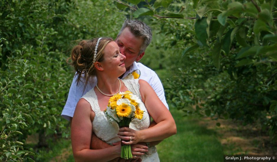 Karyn and Ryan's wedding in Vernon, British Columbia