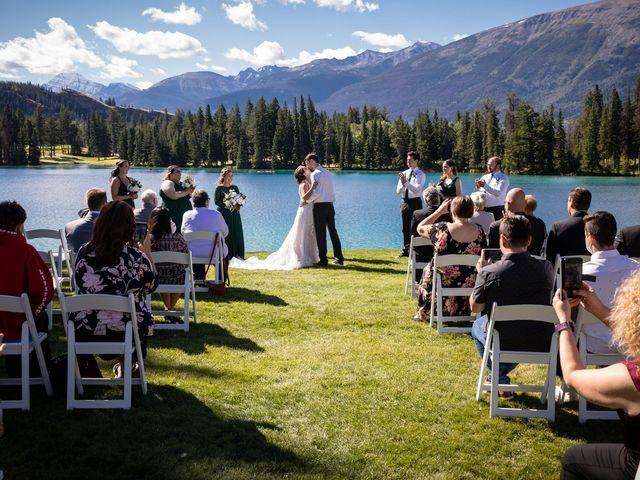 Justin and Angeline's wedding in Jasper, Alberta 3