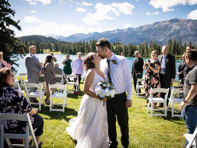 Justin and Angeline's wedding in Jasper, Alberta 4