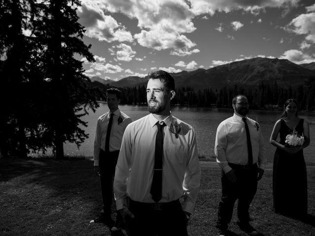 Justin and Angeline's wedding in Jasper, Alberta 7