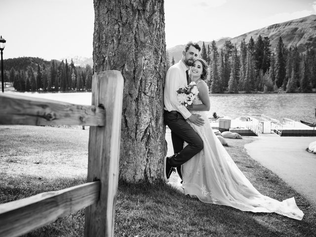Justin and Angeline's wedding in Jasper, Alberta 8