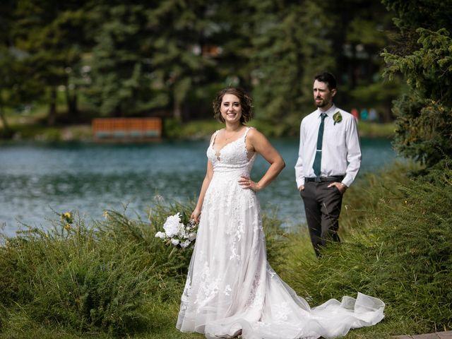Justin and Angeline's wedding in Jasper, Alberta 10