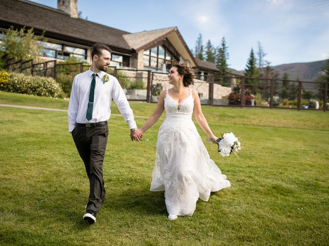 Justin and Angeline's wedding in Jasper, Alberta 2