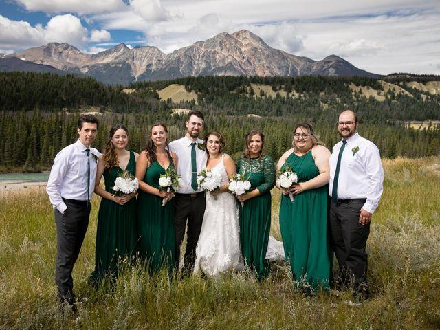 Justin and Angeline's wedding in Jasper, Alberta 11