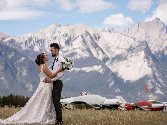 Justin and Angeline's wedding in Jasper, Alberta 12