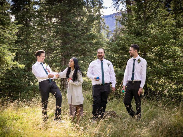 Justin and Angeline's wedding in Jasper, Alberta 13