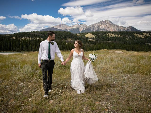 Justin and Angeline's wedding in Jasper, Alberta 14