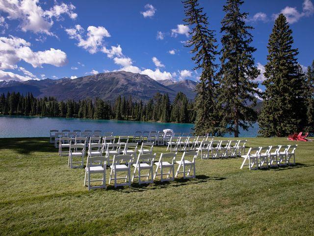 Justin and Angeline's wedding in Jasper, Alberta 15