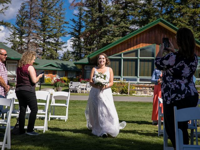 Justin and Angeline's wedding in Jasper, Alberta 17