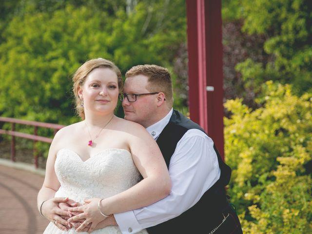 The wedding of Alyssa and Richard