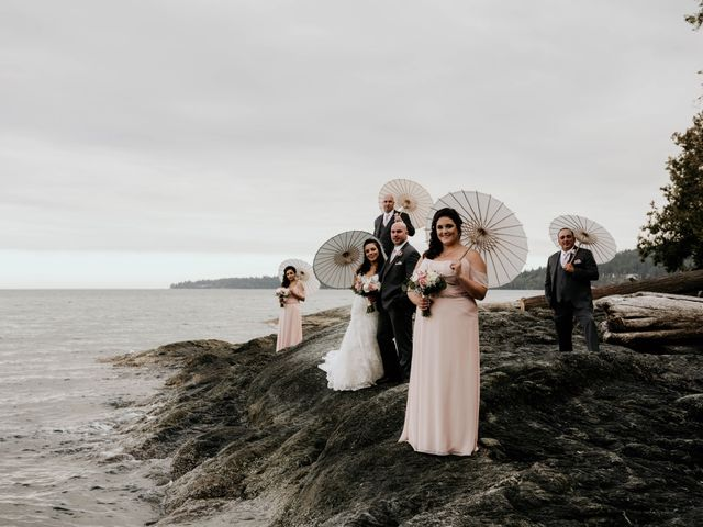 Devin and Stephanie's wedding in Victoria, British Columbia 1