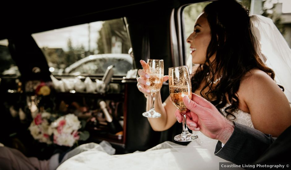 Devin and Stephanie's wedding in Victoria, British Columbia