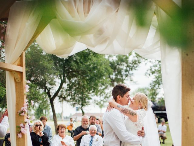 The wedding of Natasha and Brad