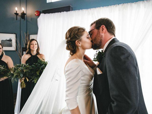 The wedding of Julia and Greg