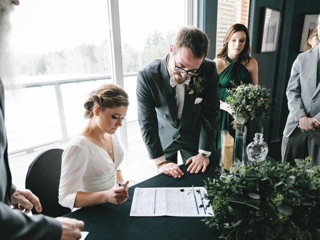 Greg and Julia's wedding in Barrie, Ontario 24