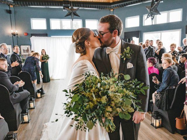 Greg and Julia's wedding in Barrie, Ontario 28