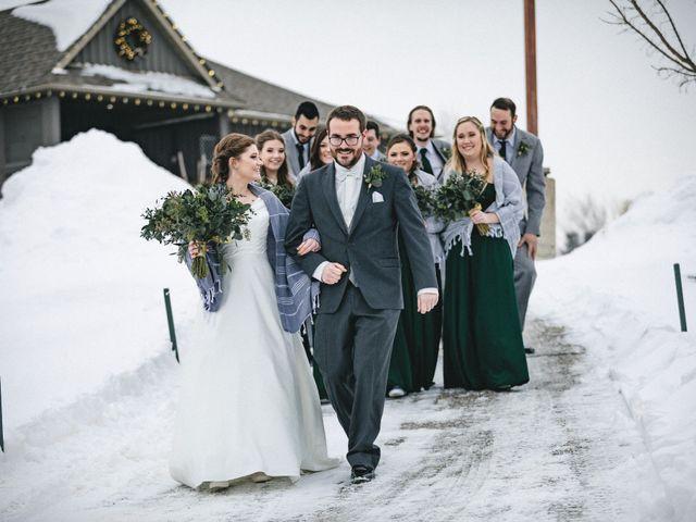 Greg and Julia's wedding in Barrie, Ontario 32