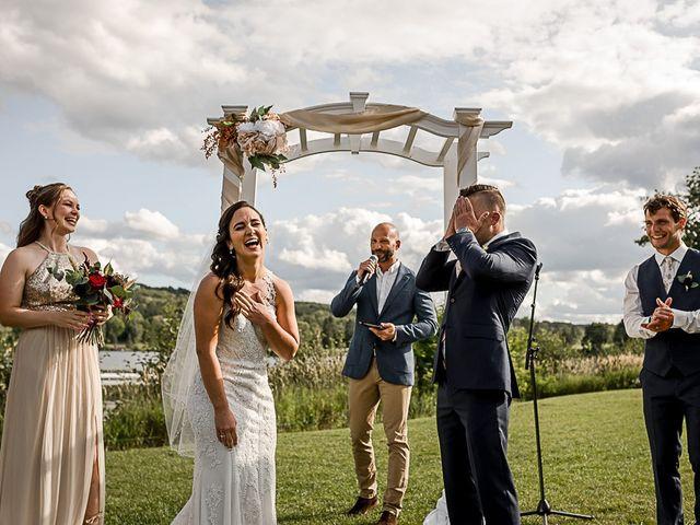 Jake and Jasmine's wedding in Huntsville, Ontario 13