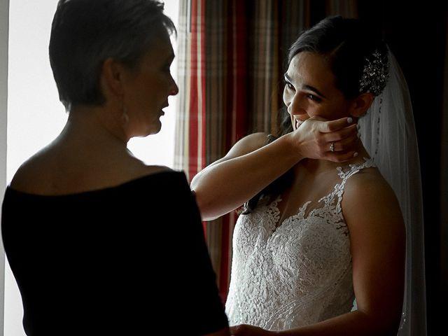 Jake and Jasmine's wedding in Huntsville, Ontario 14