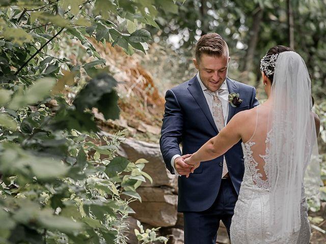 Jake and Jasmine's wedding in Huntsville, Ontario 17