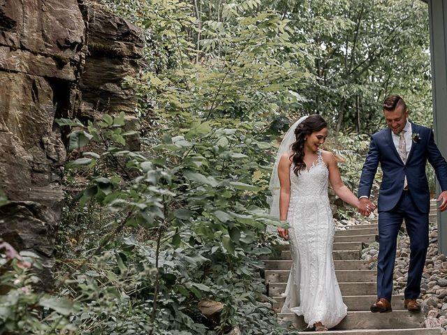 Jake and Jasmine's wedding in Huntsville, Ontario 18