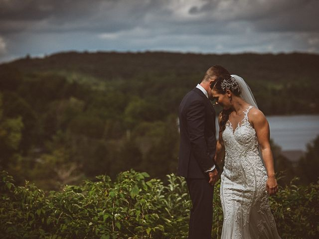 Jake and Jasmine's wedding in Huntsville, Ontario 1
