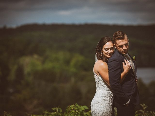Jake and Jasmine's wedding in Huntsville, Ontario 19