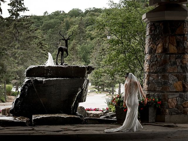 Jake and Jasmine's wedding in Huntsville, Ontario 20