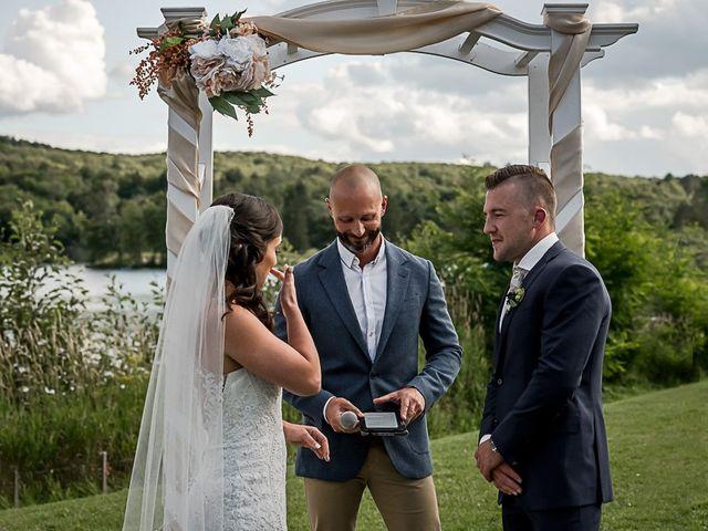Jake and Jasmine's wedding in Huntsville, Ontario 22
