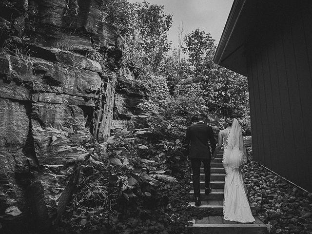 Jake and Jasmine's wedding in Huntsville, Ontario 27