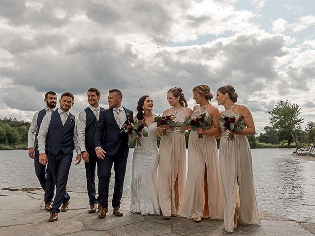 Jake and Jasmine's wedding in Huntsville, Ontario 29